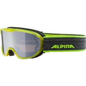 Alpina Pheos MM Goggles Junior yellow transparent black